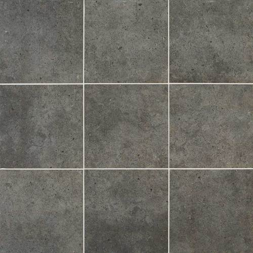 Daltile Industrial Park 12 X 12 Charcoal Black