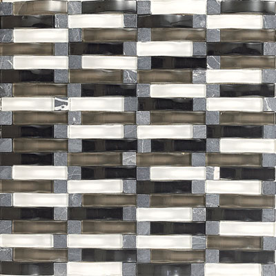 Daltile Intertwine (PTS) Mosaic Power Blend