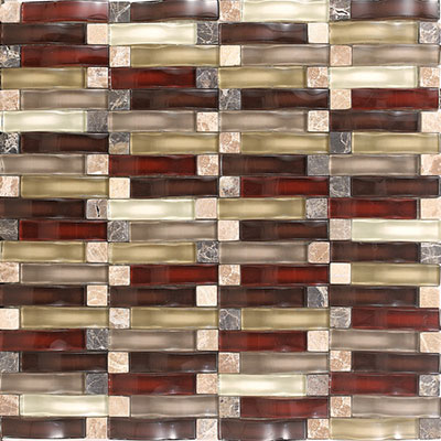 Daltile Intertwine (PTS) Mosaic Energy Blend