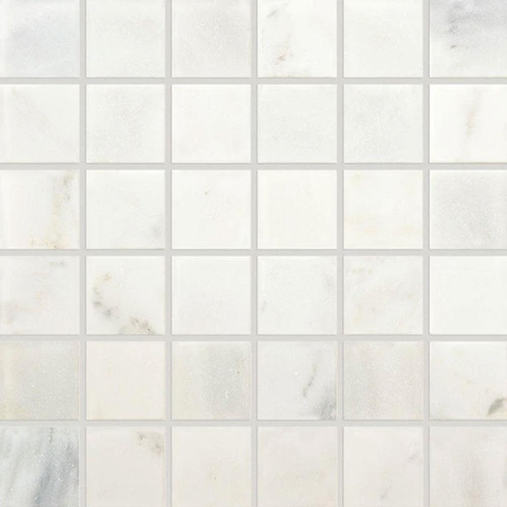 Daltile Marble 2 X 2 Mosaic First Snow Elegance