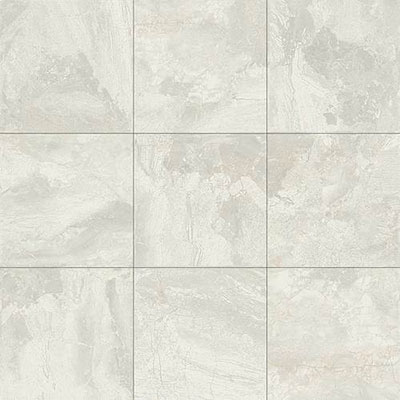 Daltile Marble Falls 12 x 12 Floor White Water