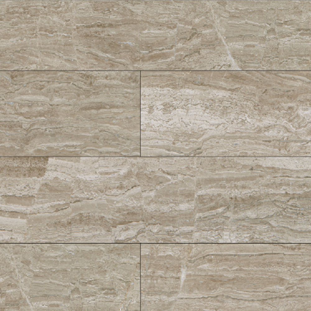 Daltile Marble Planks 8 x 36 Polished Stone River Vein Cut Polished