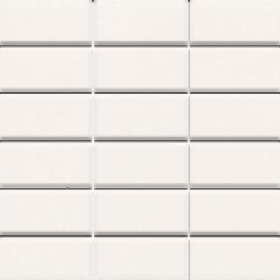 Daltile Modern Dimensions Mosaics 2 X 4 Gloss Artic White