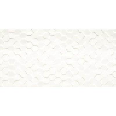 Daltile Multitude Hexagon 12 X 24 Origami White