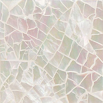 Daltile Ocean Jewels Crackled Mother Of Pearl