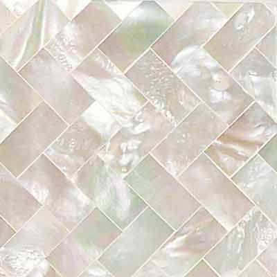 Daltile Ocean Jewels Herringbone Mother Of Pearl
