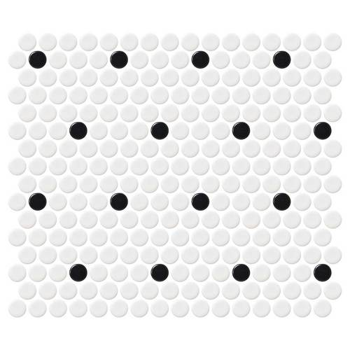 Retro Rounds Matte Polka Dot