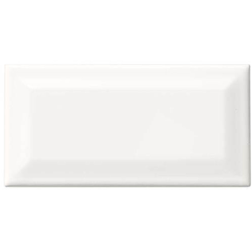 Daltile Rittenhouse Bevel 3 x 6 Gloss Artic White
