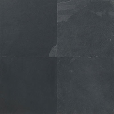 Daltile Slate Collection - Natural Cleft 12 X 24 Brazil Black