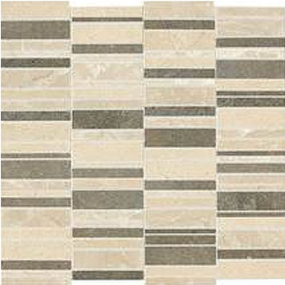 Daltile Stone Decorative Accents Stacked Mosaic Warm Waterfall Blend