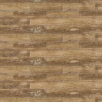 Daltile Travertine Natural Stone Plank Honed 6 x 36 Petrified Forest