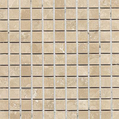 Daltile Travertine Natural Stone Honed Mosaics 1 X 1 Torreon