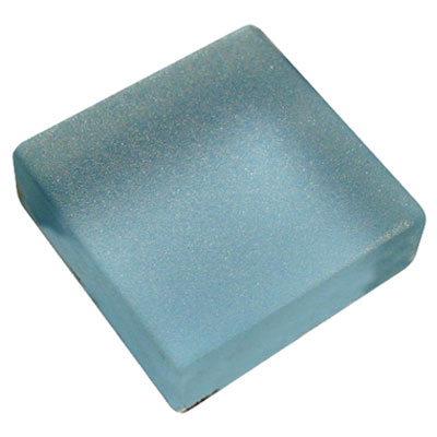 Diamond Tech Glass Frosted Dimension Mosaic 1 x 1 Frosted Light Blue