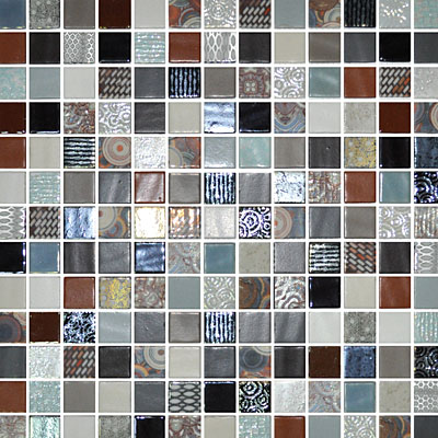 Eleganza Tiles Onix Cosmic Blends 1 X 1 Tile Amp Stone Colors