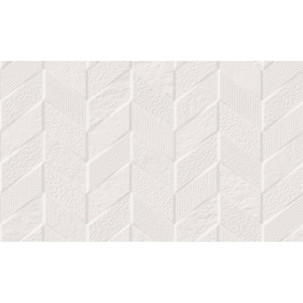 Eleganza Tiles Museum Wall Chevron White