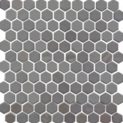 Eleganza Tiles Onix Hexagon 1 X 1 Pewter