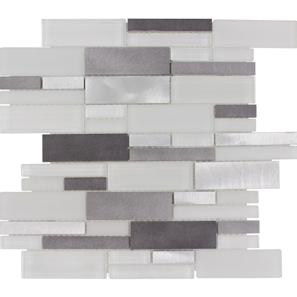 Elida Ceramica Elementos Interlocking Mosaic Avalanche Metal