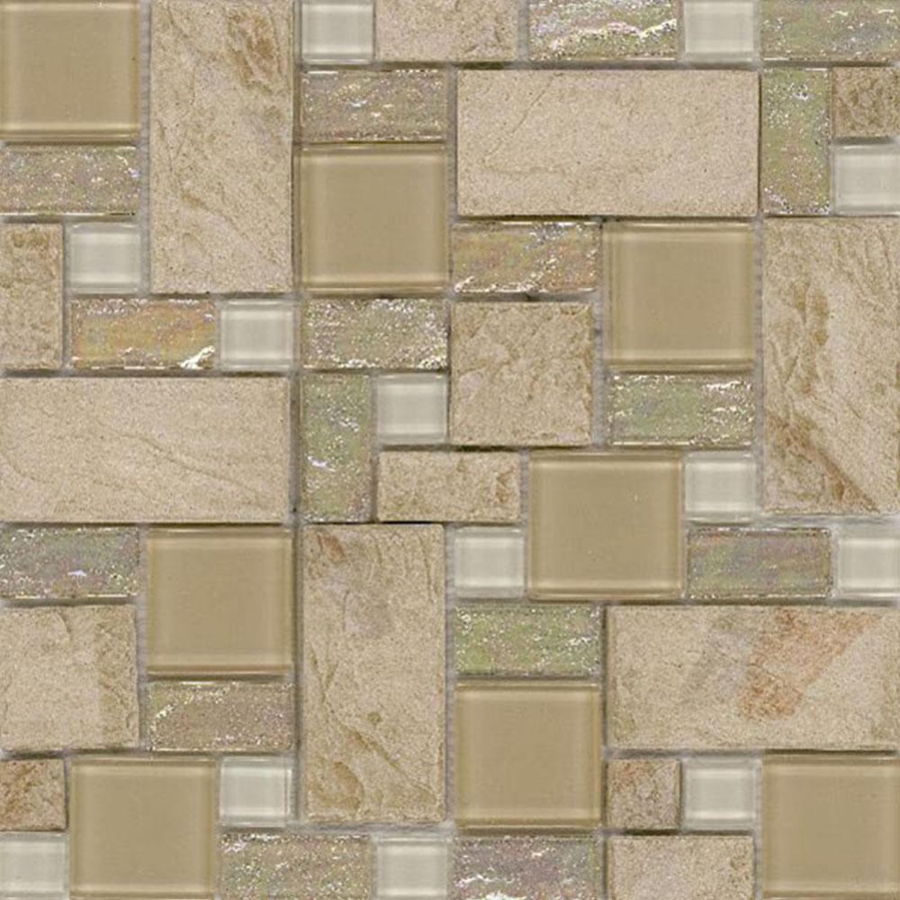 Elida Ceramica Slate Mosaic Sand Slate