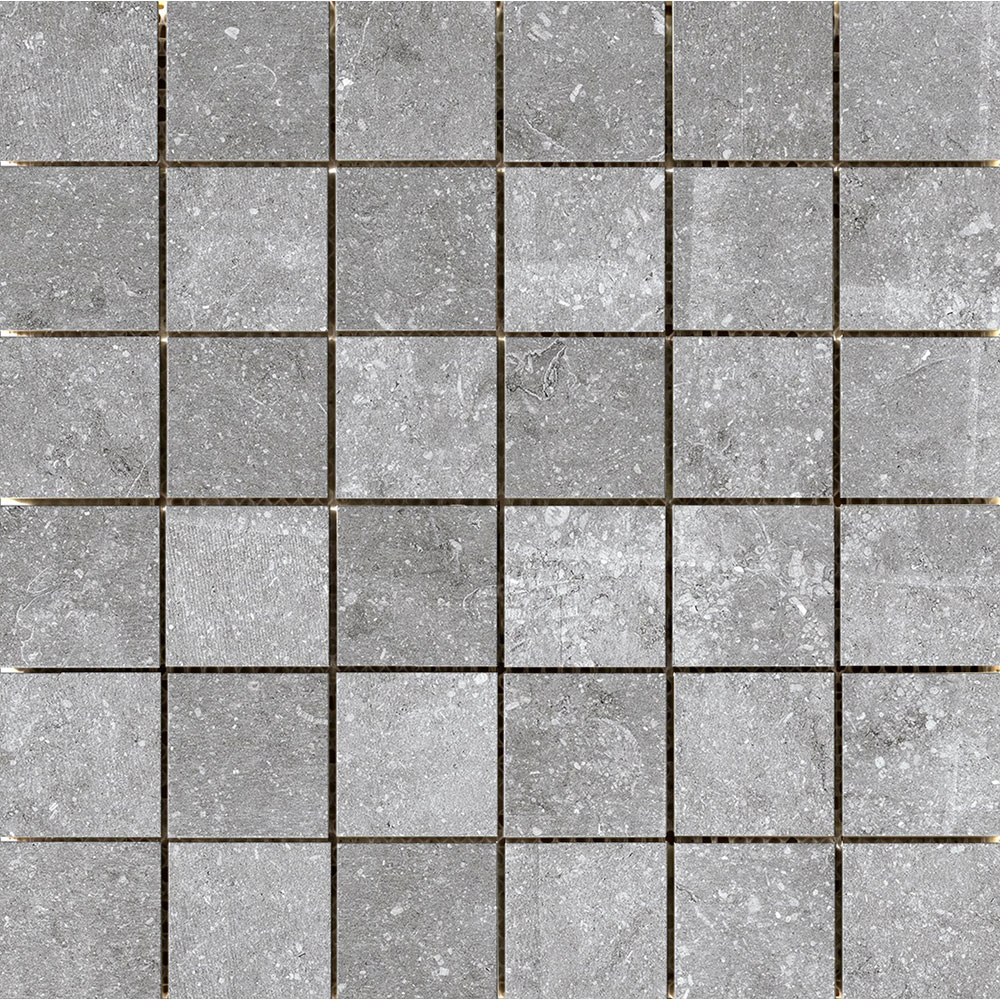 Emser Tile Blue Emotion Mosaic Gray