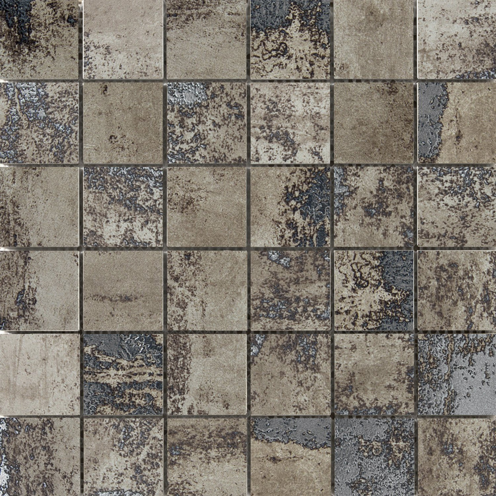Emser Tile Chemistry Mosaic Taupe