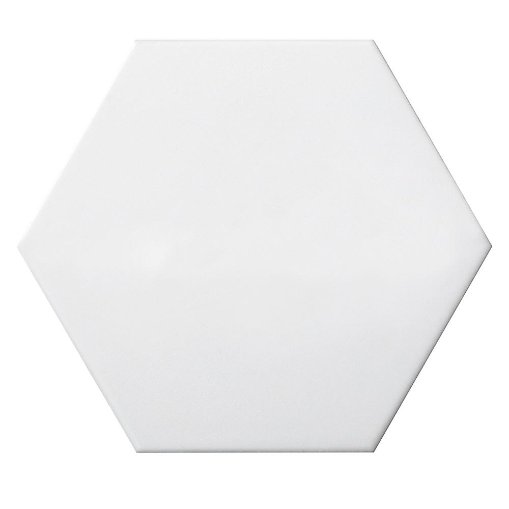 Emser Tile Code Hexagon White Hex Smooth