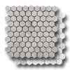 Marble Hexagon Mosaic Polished