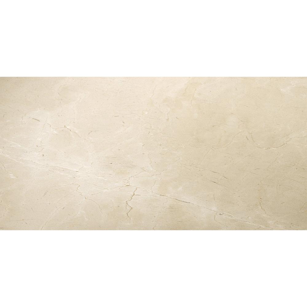 Emser Tile Marble 12 X 24 Polished Crema Marfil Classico