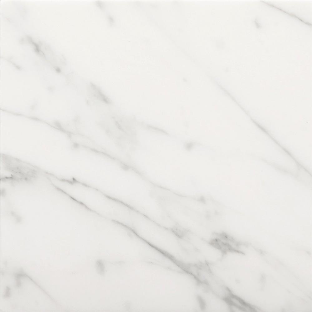 Emser Tile Marble 24 X 24 Polished Bianco Gioia