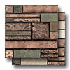 Vista Glass and Stone Pattern Mosaic Blend
