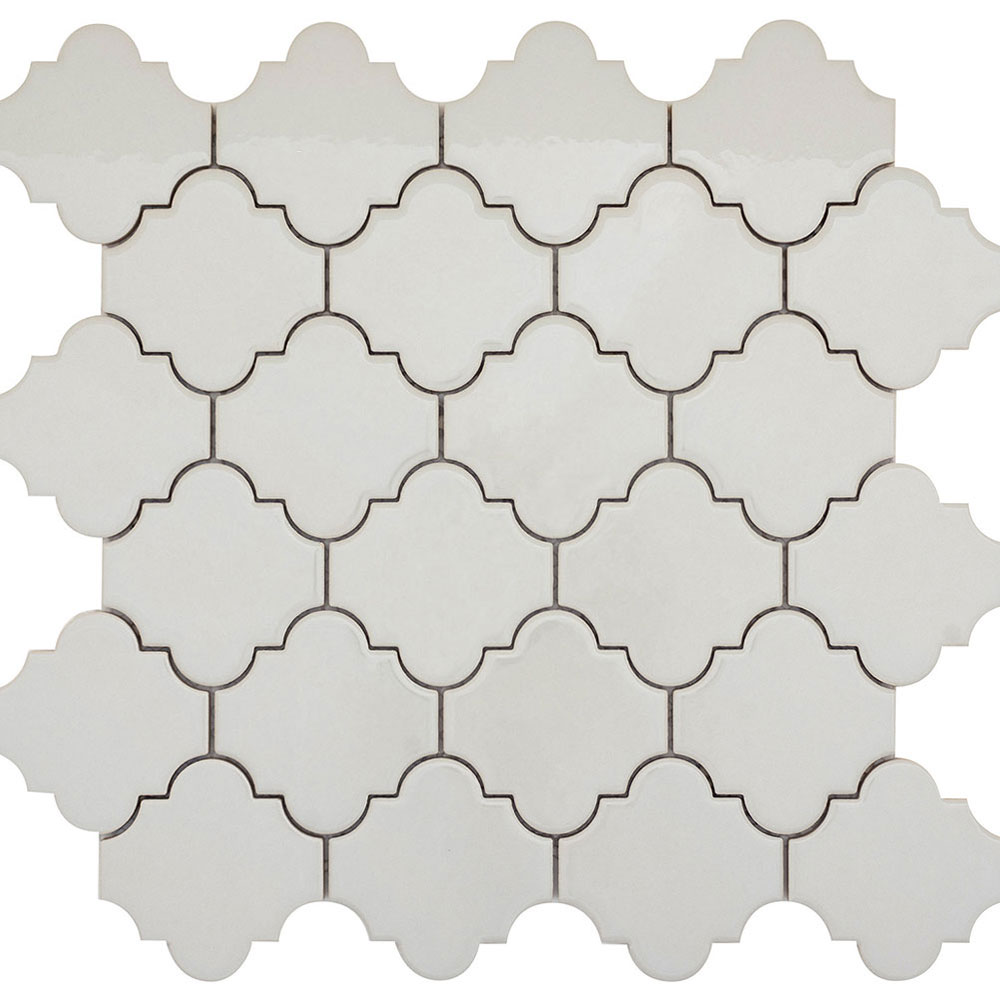 Emser Tile Vogue Lantern Mosaic Gloss Gray