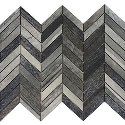Fioranese Ceramica Chevron Chic Chevron Mosaic Tile & Stone Colors