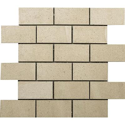 Interceramic Montpellier Bricklay Mosaic Beige