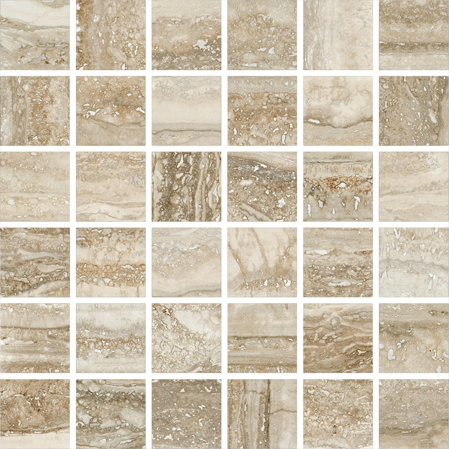 Interceramic San Giulio Mosaic Isola Beige