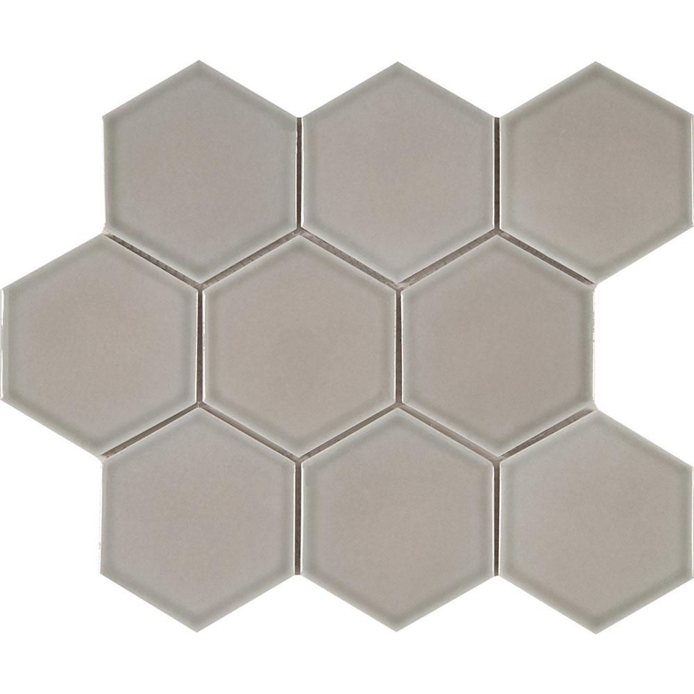 Interceramic Waterford Mosaics Hexagon Taupe