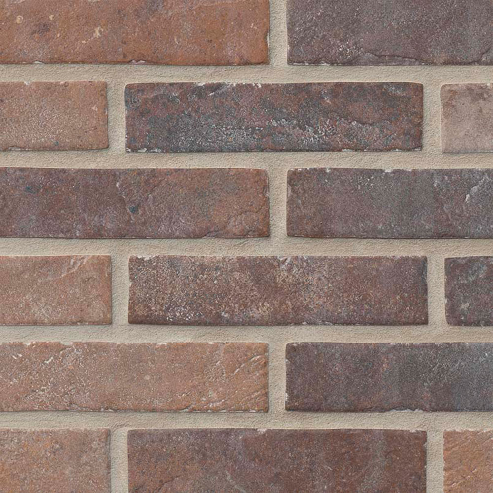 Brickstone 2 x 10 Red