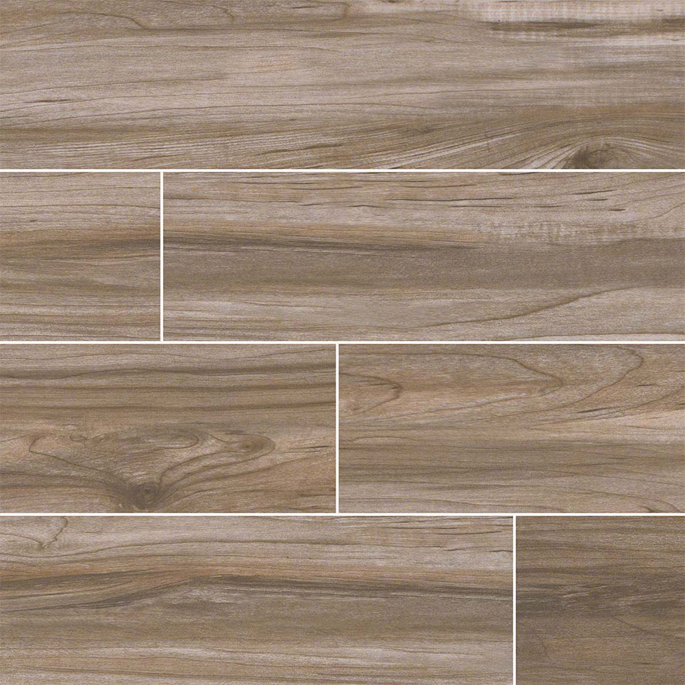 MS International Carolina Timber II 6 x 36 Beige