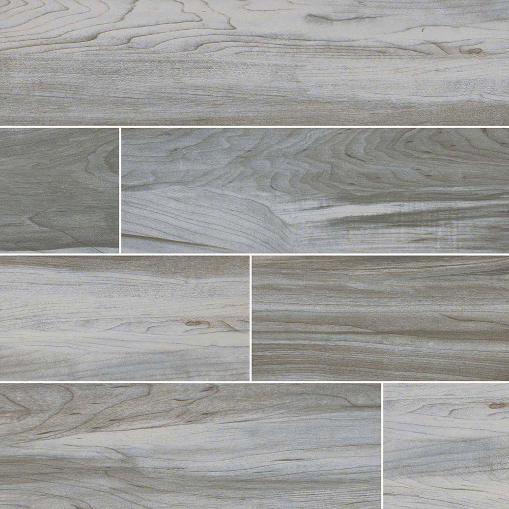 MS International Carolina Timber II 6 x 36 White