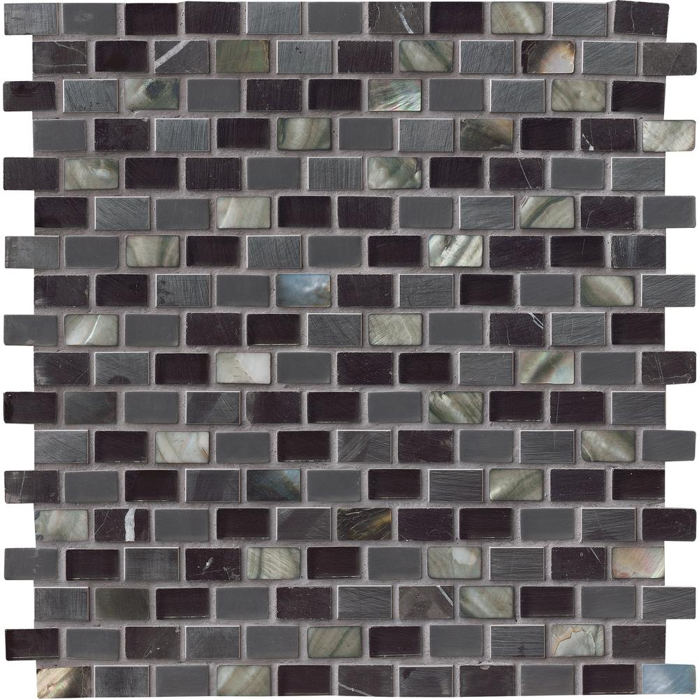 Ms International Decorative Blends Mosaic Mini Brick