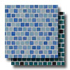 Glass Mosaic 1 x 1 Staggered