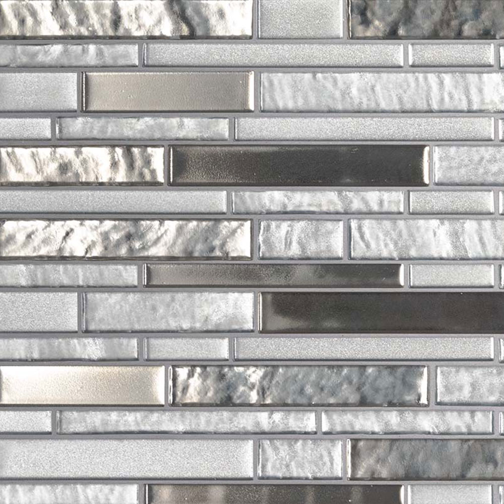 MS International Glass Mosaic Interlocking 12 x 12 Adara