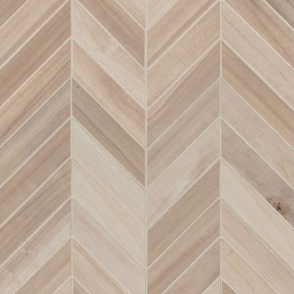 MS International Havenwood Chevron Mosaic Beige