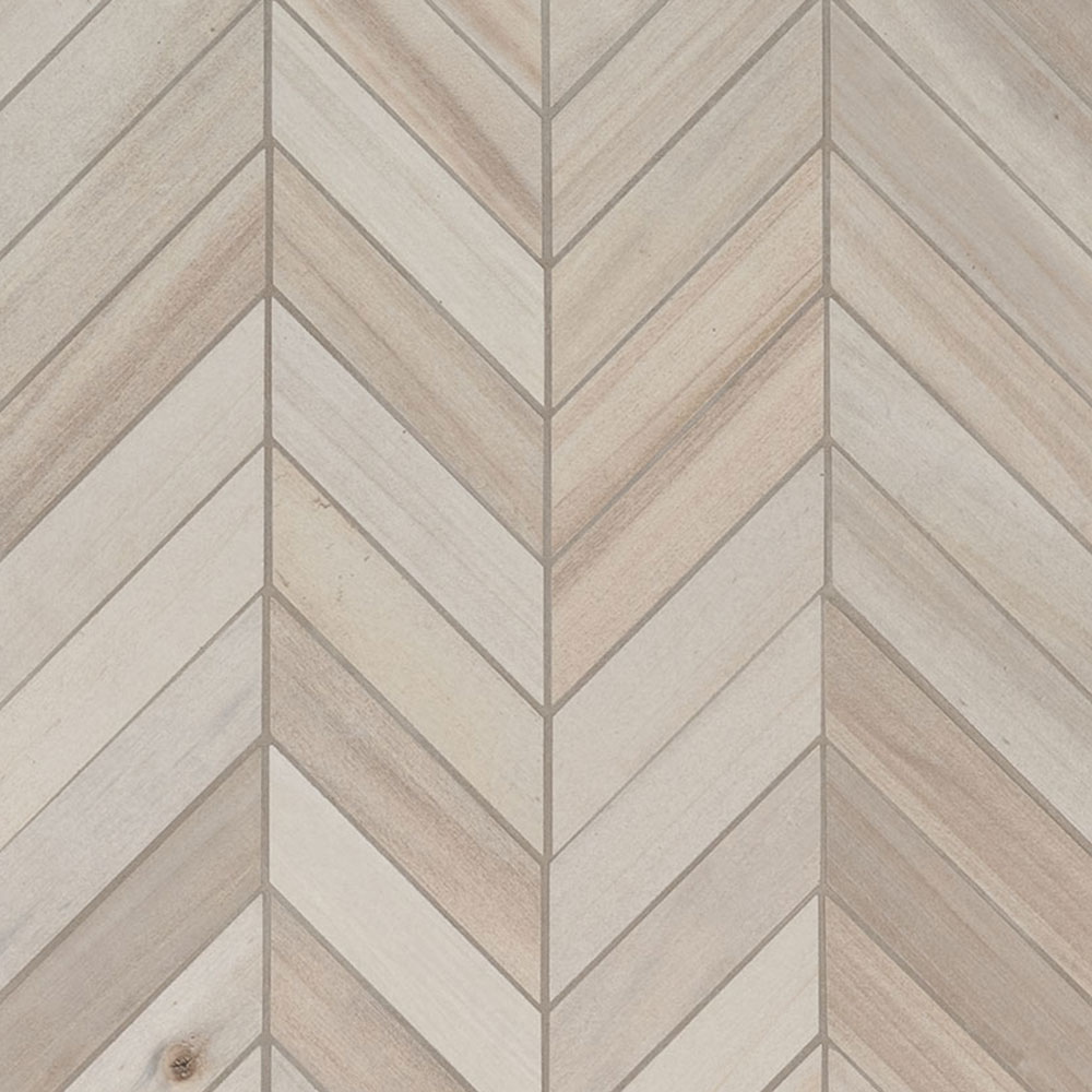 MS International Havenwood Chevron Mosaic Dove