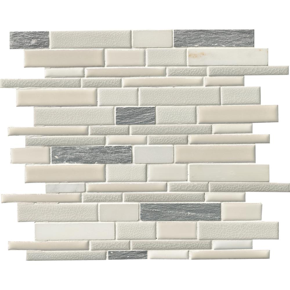 Ms International Decorative Blends Mosaic Interlocking 12