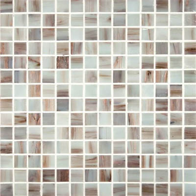 Ms International Glass Mosaic 75 X 75 Ivory Iridescent Glass