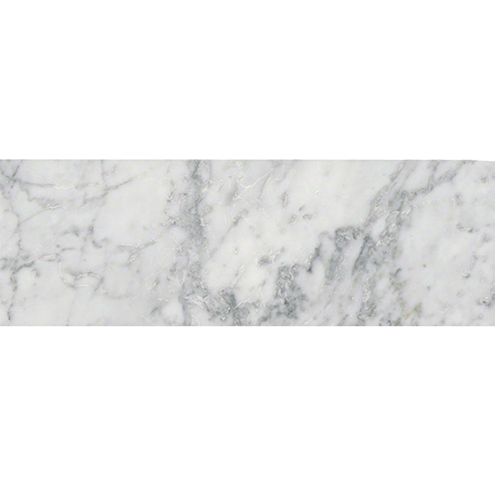 MS International Marble 4 X 12 Honed Arabescato Carrara