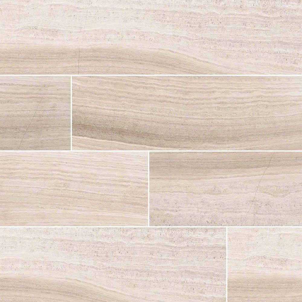 MS International Marble 6 x 24 Honed Gray Oak