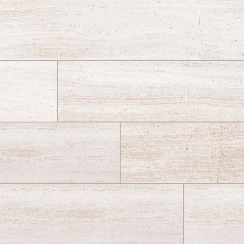 MS International Marble 6 x 24 Honed White Oak Honed