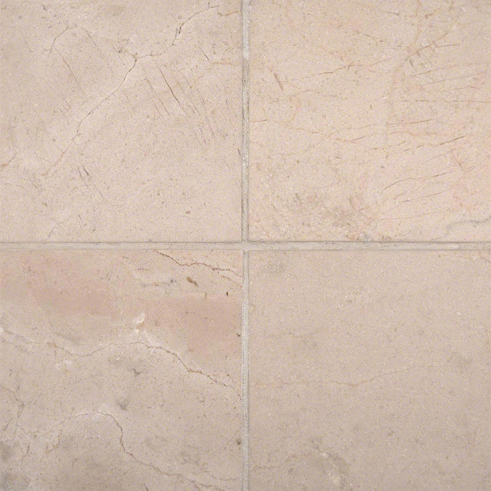 MS International Marble 6 x 6 Honed Crema Marfil