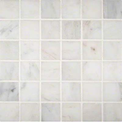 Marble Mosaics 2 x 2 Polished Greecia White Polished