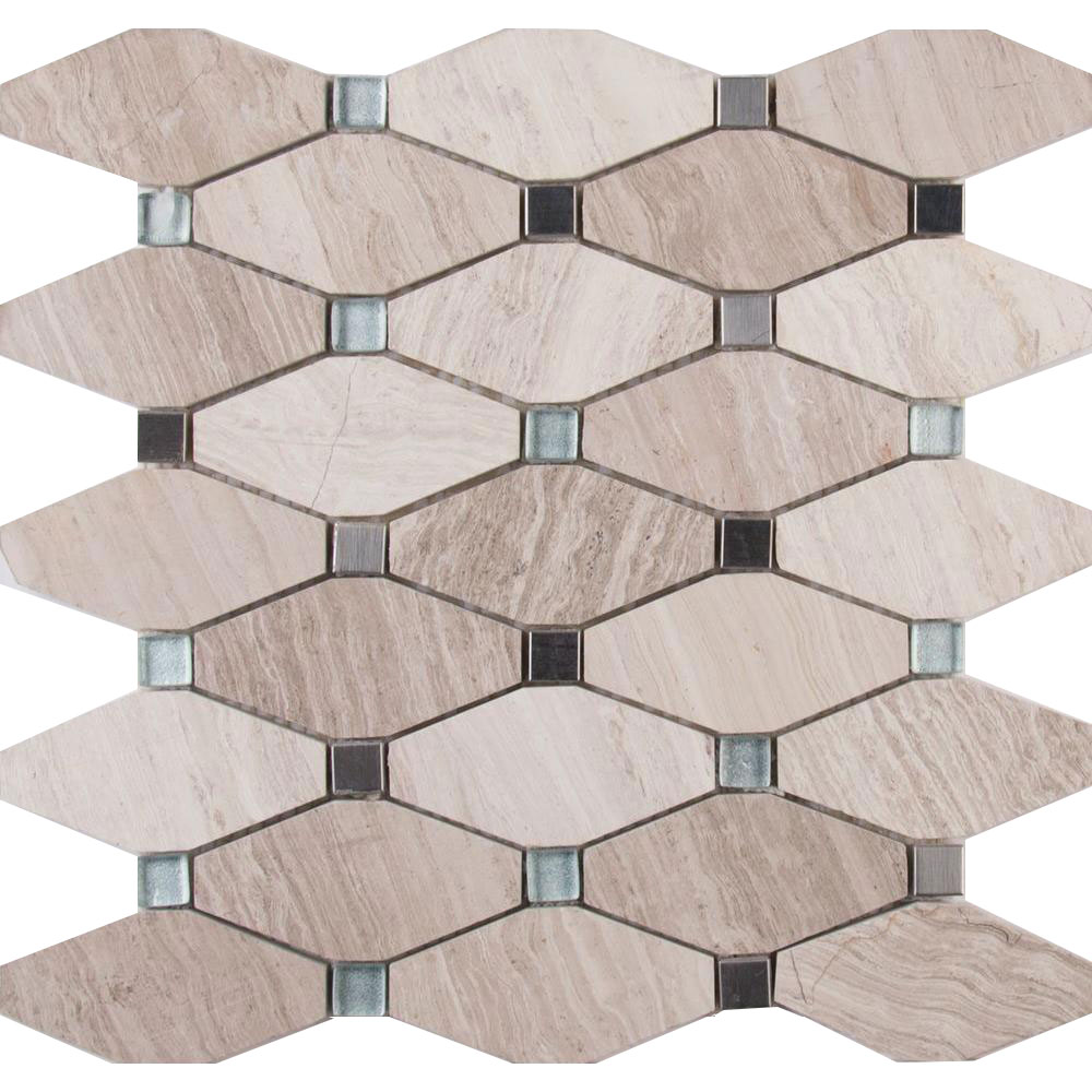 Decorative Blends Mosaic Other Bayview Elongated Octagon